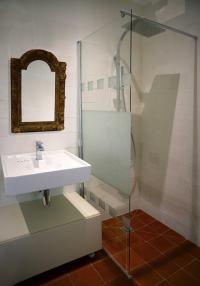 """Salle d'eau de """"La chambre de la libellule"""""""